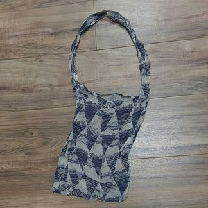 Free People reusable linen shopping bag
